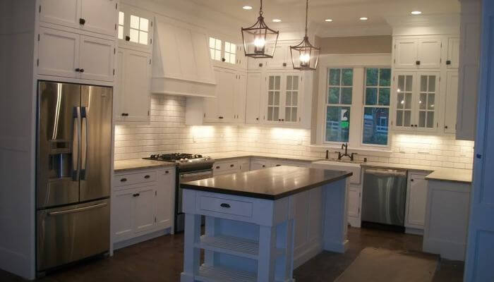 Should Kitchen Cabinets Go To The Ceiling Fitted Kitchen Design