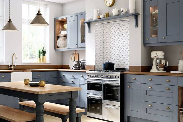 Kitchens Designed And Fitted Fitted Kitchen With Island Without Handles Xp 02 By Zampieri